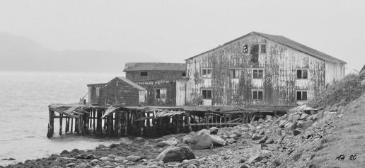 Abandoned Fishing Buildings - Photo by Arvid Høidahl