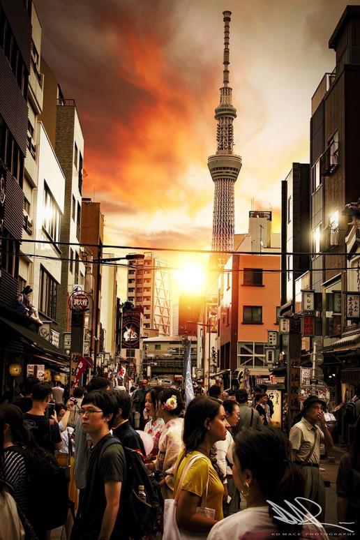 Asakusa Street View - Photo by KD Mack