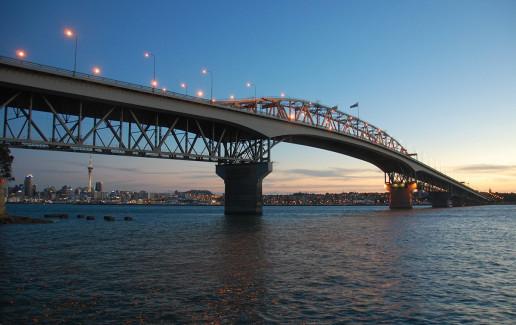 Auckland Harbour Bridge - Photo by Stephen Witherden