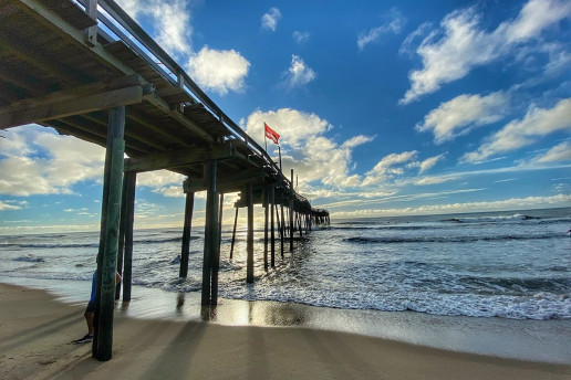 Avon Fishing Pier - Photo by Gene Gallin