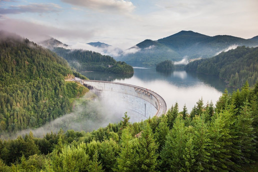 Barajul Drăgan-Floroiu - Photo by paul mocan
