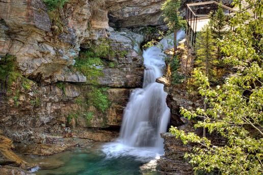 Blakiston Falls - Photo by Bobbijogrunewald
