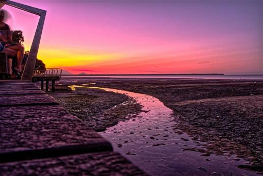 Cairns Esplanade Seawall - Photo by Thomas Chen