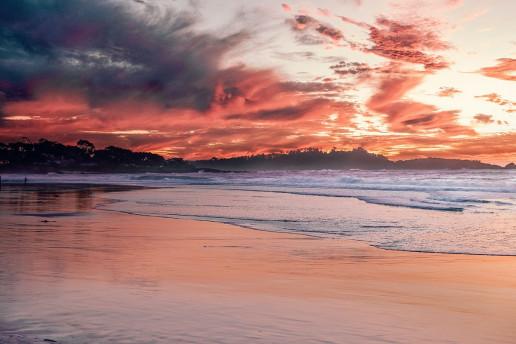 Carmel Beach - Photo by Jake Blucker