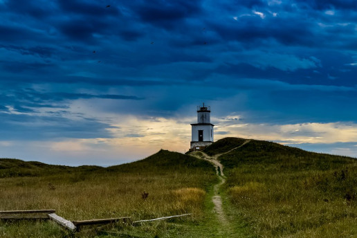Cattle Point Lighthouse - Photo by Jason Jacobs
