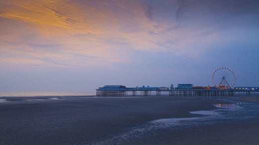 Central Pier - Photo by Mdbeckwith