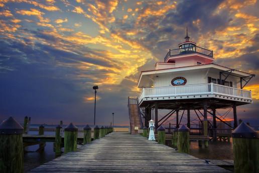Choptank River Lighthouse - Photo by Eric B. Walker