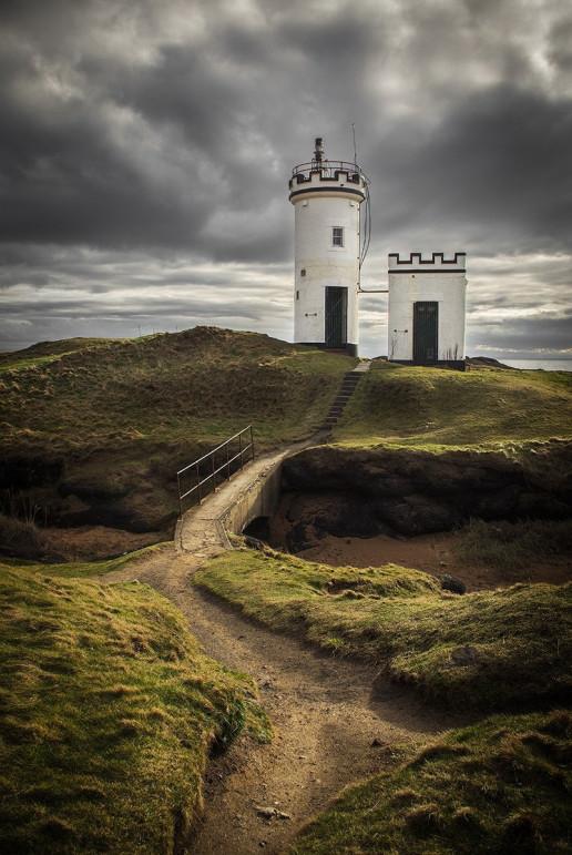 Elie Ness Lighthouse - Photo by Neil Williamson