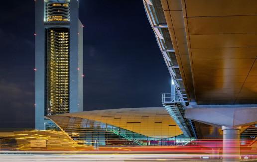 Emirates Tower Metro Station - Photo by Kent Tupas