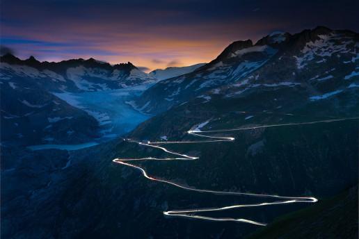 Furka Pass - Photo by Sepp Rutz