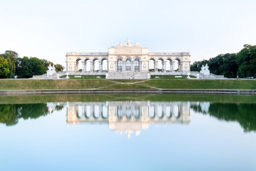 Gloriette Pavilion - Photo by Dimitry Anikin