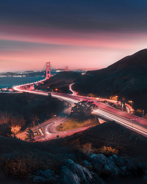 Golden Gate Cityscape - Photo by Justin W