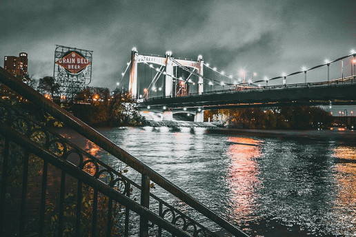 Hennepin Avenue Bridge - Photo by Josh Hild