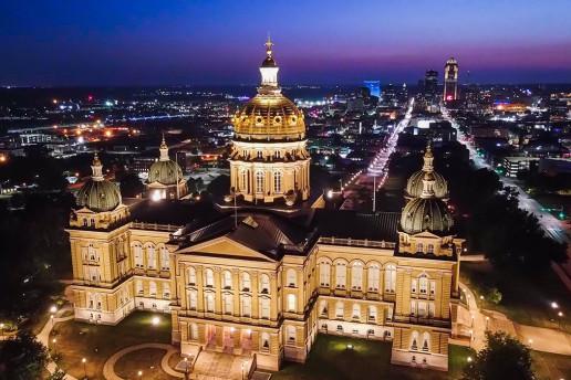 Iowa State Capitol - Photo by Austin Goode