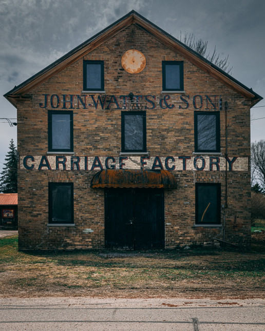 John Watts & Sons Carriage Factory - Photo by Shawn M. Kent