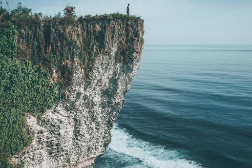 Karang Boma Cliff - Photo by Pande Satvika