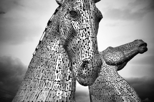 Kelpies Sculpture - Photo by Stacey Walsh
