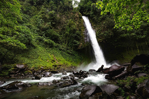 La Fortuna Waterfall - Photo by Tj Kolesnik