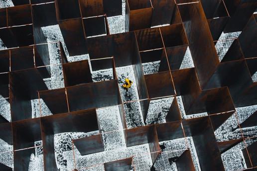 Labyrinth at C-Mine - Photo by Dan Asaki