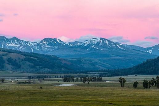 Lamar Valley - Photo by Jacob W. Frank/NPS