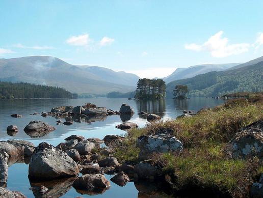 Loch Ossian - Photo by Bob Shand