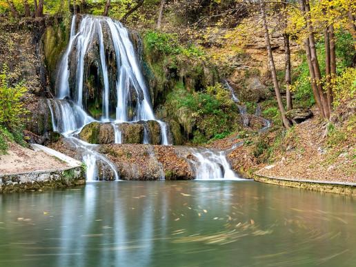 Lučanský vodopád - Photo by Dimitry Anikin