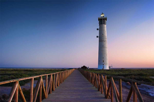 Morro Jable Lighthouse - Photo by Michael Caven