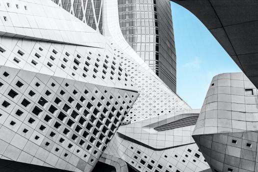 Nanjing International Youth Cultural Centre - Photo by Denys Nevozhai
