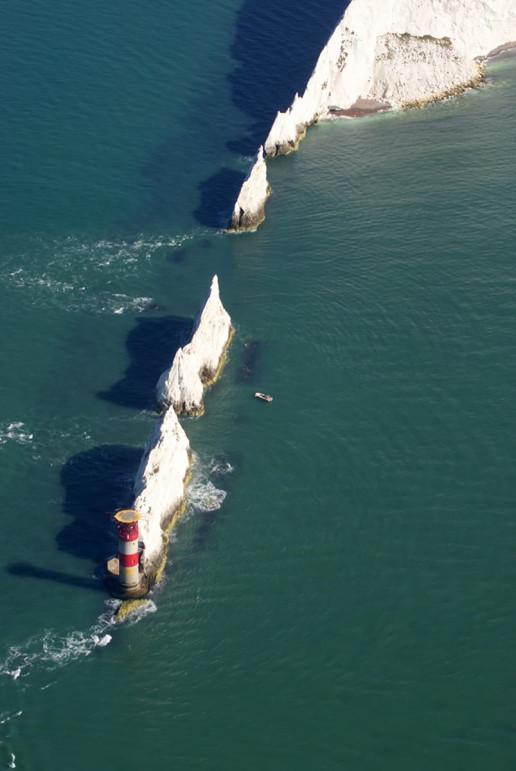 Needles Lighthouse - Photo by Ian Stannard