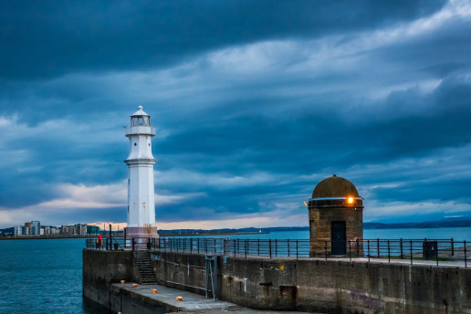 Newhaven Lighthouse - Photo by Peter Moore