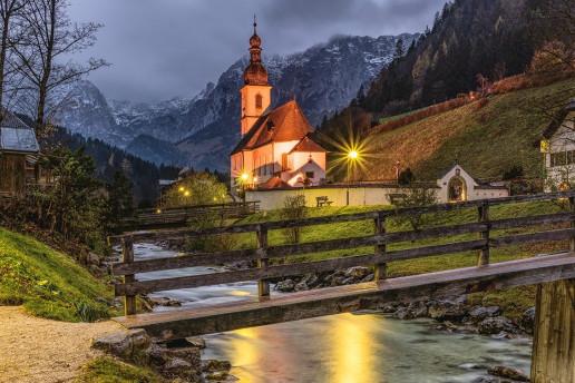 Parish Church of St. Sebastian - Photo by Felix Mittermeier