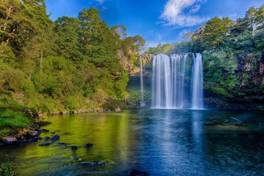 Rainbow Falls - Photo by Marc St