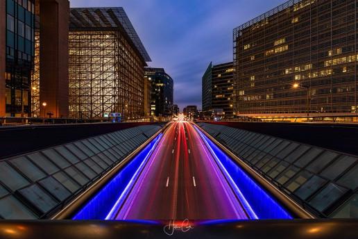 Rue de la Loi View - Photo by Hélène Cook