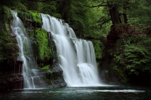 Sgwd Pannwr Waterfall - Photo by Charlie Marshall