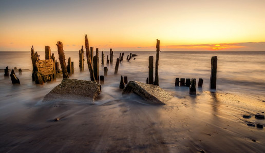 Spurn Point - Photo by Tim Hill