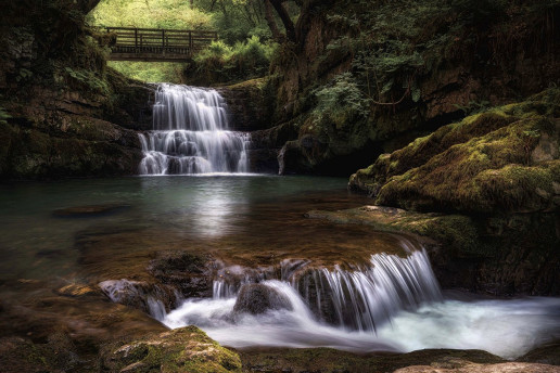 Sychryd Falls - Photo by Martin Evans Photographics