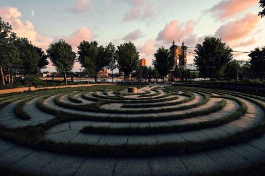 The Labyrinth - Photo by Jake Blucker
