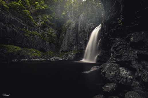 Trollfoss - Photo by Frode Heiland
