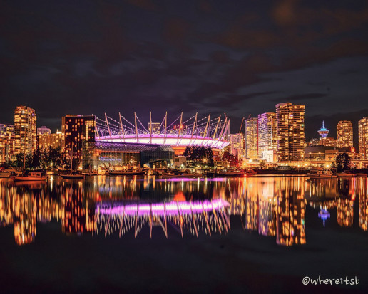 View of BC Place - Photo by Adri