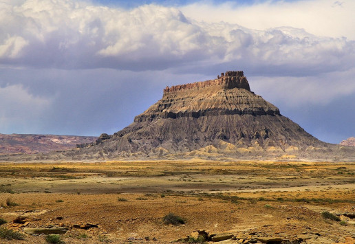 View of Factory Butte - Photo by arbyreed