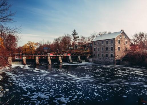 Watsons Mill View - Photo by Shawn M. Kent