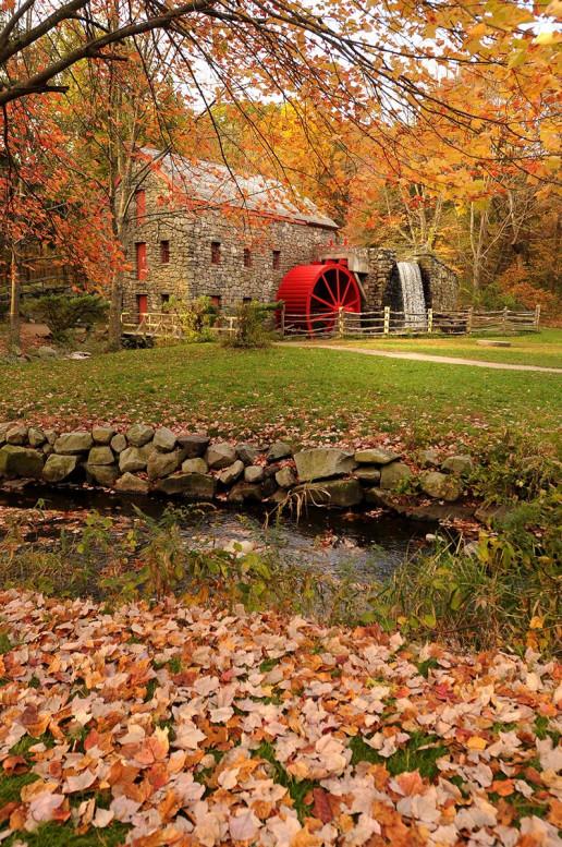 Wayside Inn Grist Mill - Photo by Massachusetts Office Of Travel