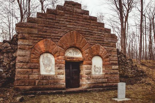 Wood Mausoleum - Photo by Shawn M. Kent