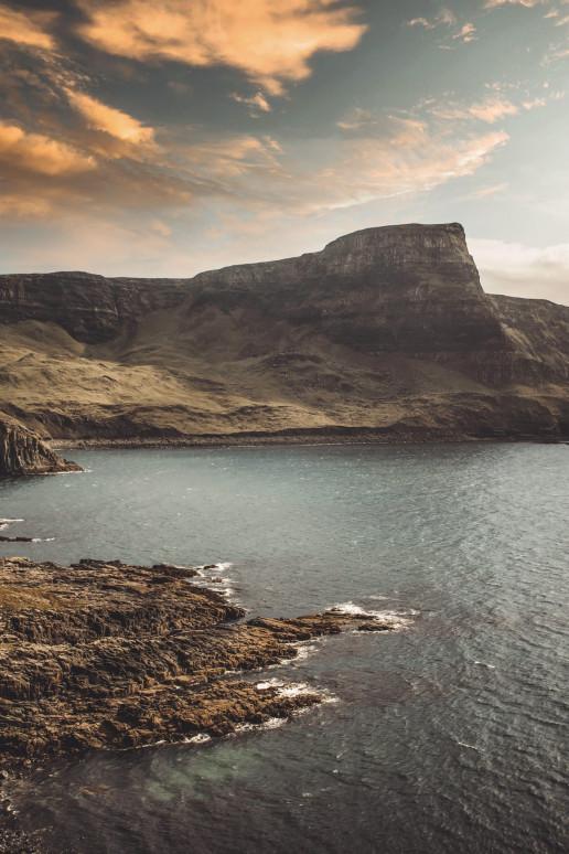 Neist Point Cliffs by Isla Harper