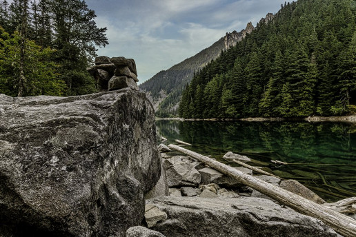 Lindeman Lake - Photo by Jerry Meaden