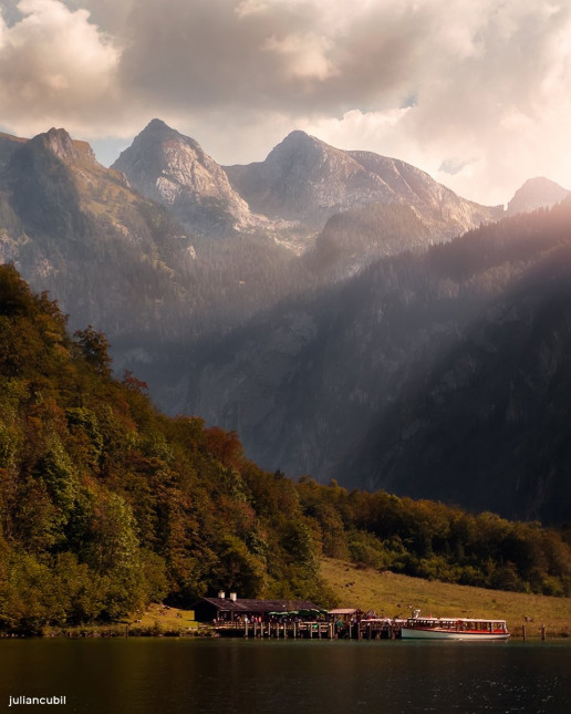 Obersee Ferry Views - Photo by Julian