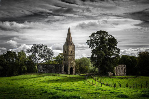 Restenneth Priory - Photo by Michael Barnes