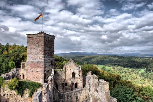 Rötteln Castle Ruins - Photo by Laura & Alessandro