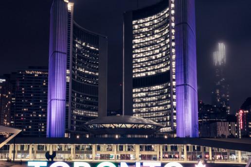 Toronto City Hall-Photo by Shawn M. Kent