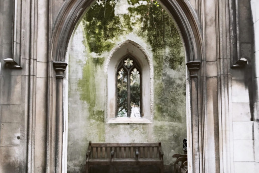 St. Dunstan in the East by Ungry Young Man